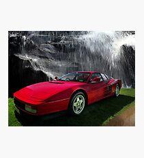 1986 Testarossa TR512 Photographic Print