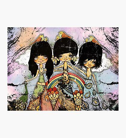 hippy chicks Photographic Print