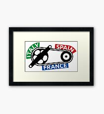 The Grand Cycle Framed Print