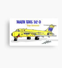 Hughes Airwest DC-9 Metal Print