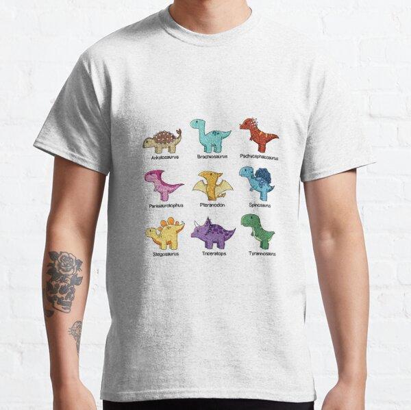 Dinosaur Chart Classic T-Shirt