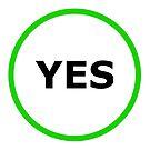 Yes Sign by Henrik Lehnerer