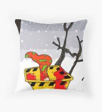 Christmas in Fargo Throw Pillow