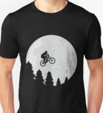 Mountain Biking - Jump To The Moon Unisex T-Shirt