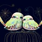 Little Love Birds by Karin Taylor