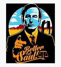 Better Call Saul Logo Photographic Print