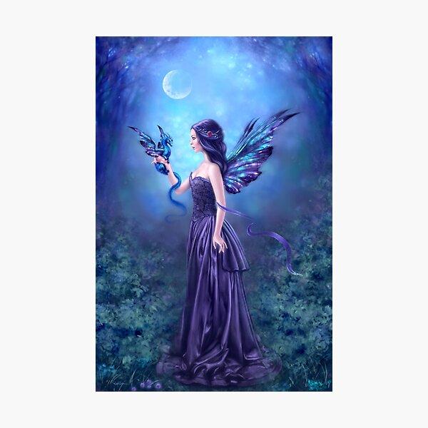 Iridescent Fairy & Dragon Photographic Print