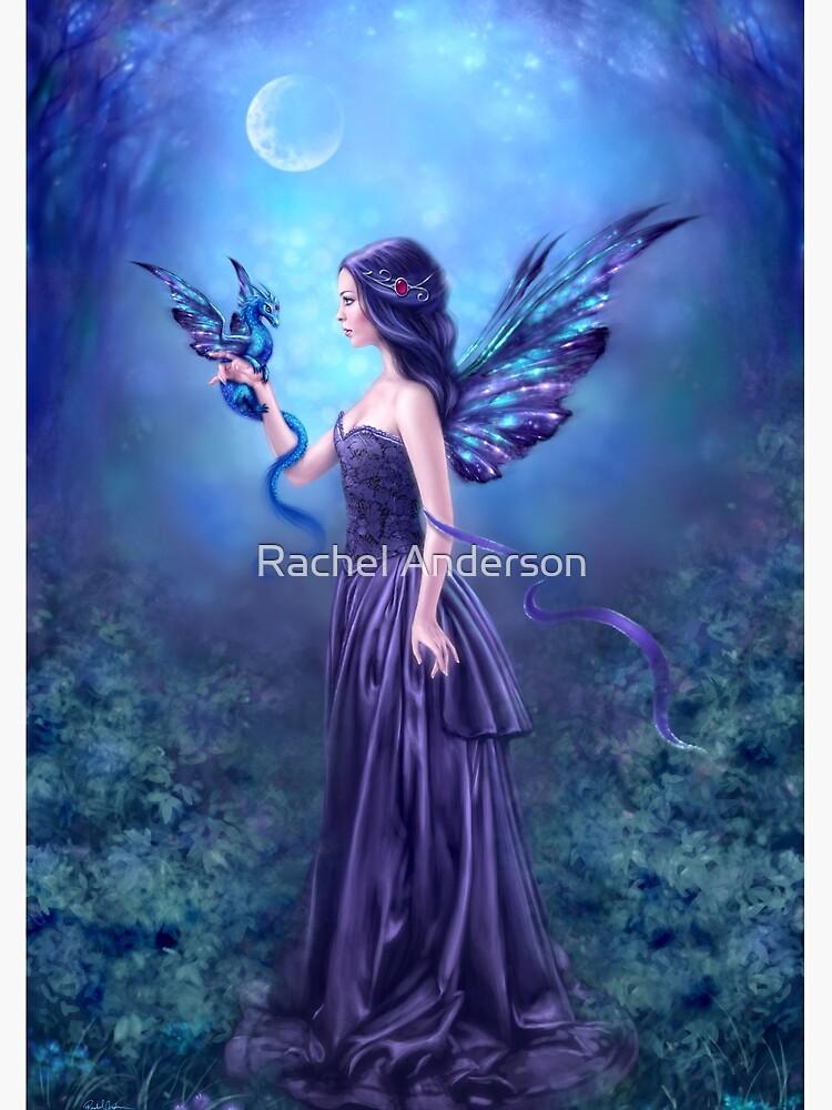 Iridescent Fairy & Dragon by silverstars