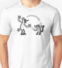 Rubber Hose Mordecai and Rigby T-Shirt