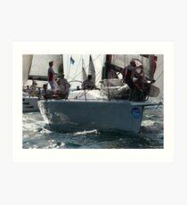 Yacht #3 Art Print