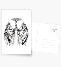 Butterfly Lungs Postcards