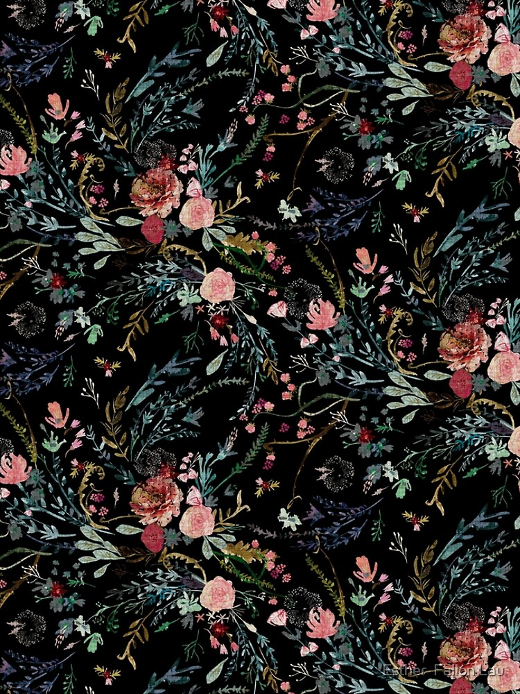 Midnight Floral by nouveaubohemian