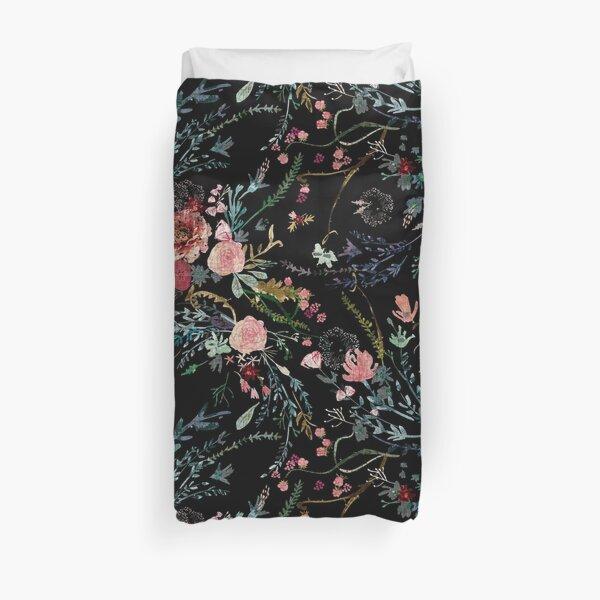 Midnight Floral Duvet Cover