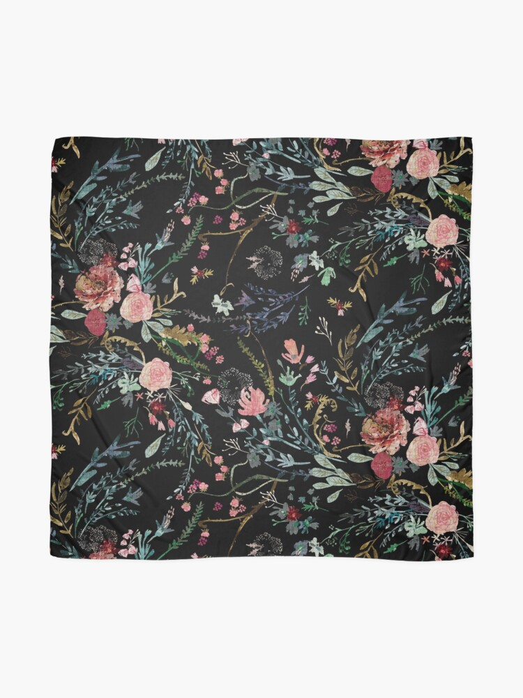 Alternate view of Midnight Floral Scarf