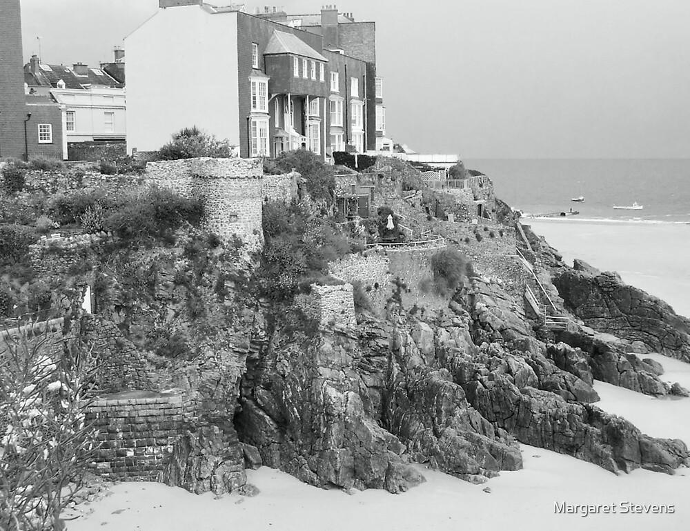 Seaside in Wales by Margaret Stevens
