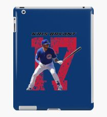 Kris Bryant - Chicago Cubs iPad Case/Skin