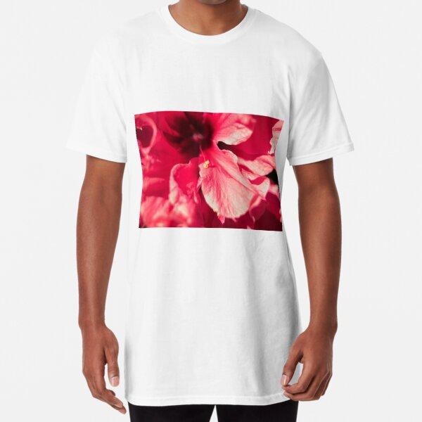 Hibiscus Long T-Shirt