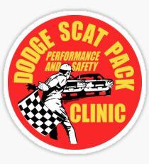 Dodge Scat Pack Clinic Sticker