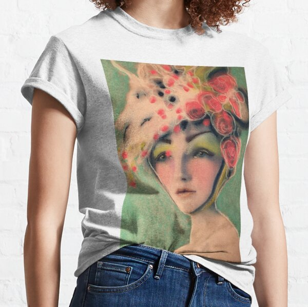 Flowered Milinery Classic T-Shirt