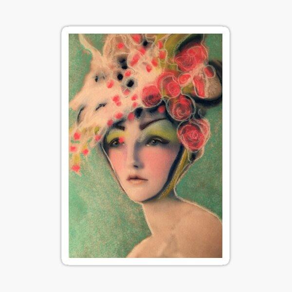 Flowered Milinery Sticker