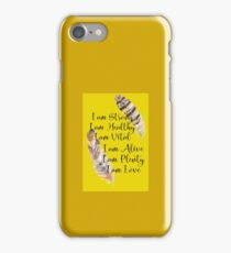 I Am Affirmations iPhone Case/Skin