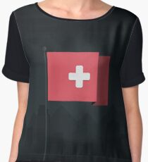 Switzerland Women's Chiffon Top
