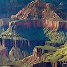 Grand Canyon Scenic View  by Walter Colvin