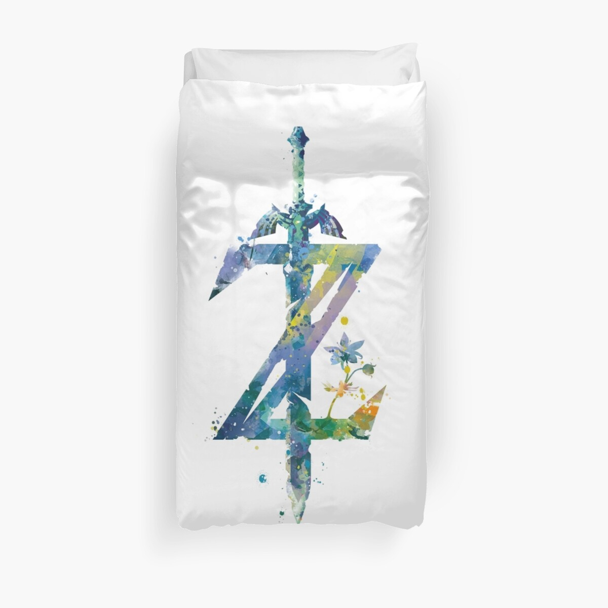 """""""Breath Of The Wild"""" Duvet Covers By MonnPrint"""