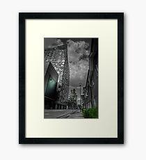 The Cube Birmingham Framed Print