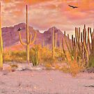 Sonoran Desert Eagles by Walter Colvin