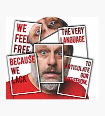 The Real of S.Zizek Photographic Print