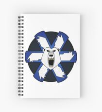 Ghost bear's pride Spiral Notebook