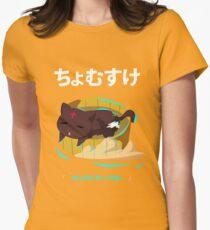 Chomusuke KonoSuba Womens Fitted T-Shirt