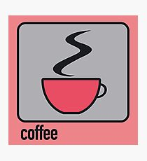 coffee red Photographic Print