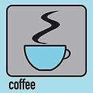 coffee blue by Micheline Kanzy