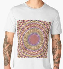 Trippy Optical Illusion Men's Premium T-Shirt