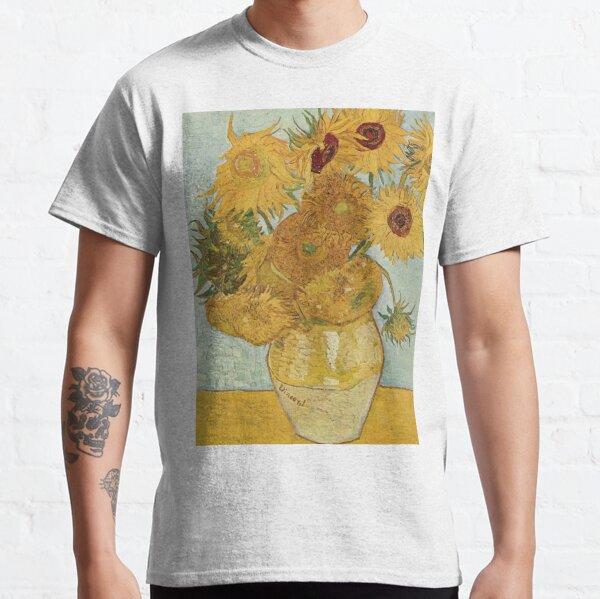 Girasoles Van Gogh Camiseta clásica