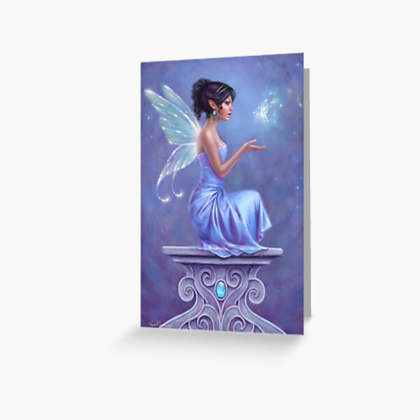 Fairy Greeting Cards Redbubble