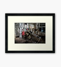 candy factory 1 Framed Print