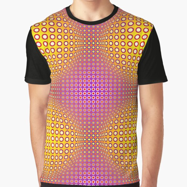Style Vasarely T-shirt graphique