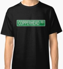 008 Copperhead Road street sign Classic T-Shirt