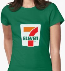 7-Eleven Logo Womens Fitted T-Shirt