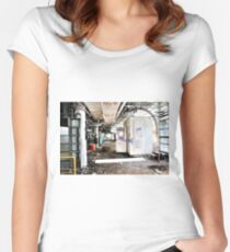 candy factory 22 Women's Fitted Scoop T-Shirt