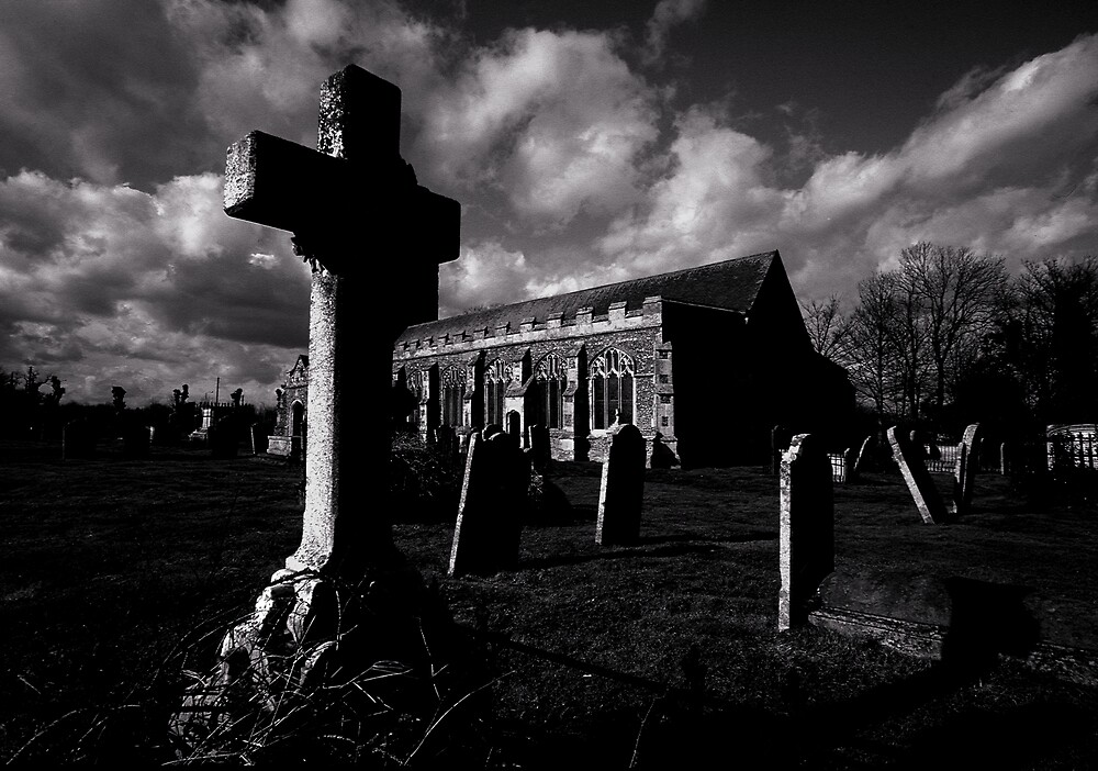 Dark clouds over Grave Yard by kitlew