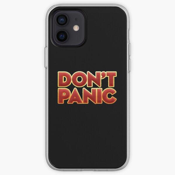 Dont panic - Novel iPhone Soft Case