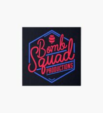 BombSquad Productions Blue Red Neon Art Board