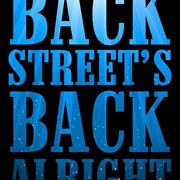 Backstreet's Back Alright! Racerback by eFfany