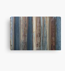 Rusty old shipping container Canvas Print