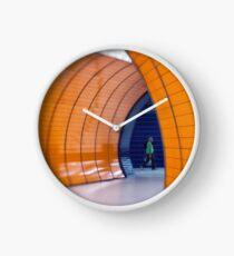 Tunnel Vision Clock