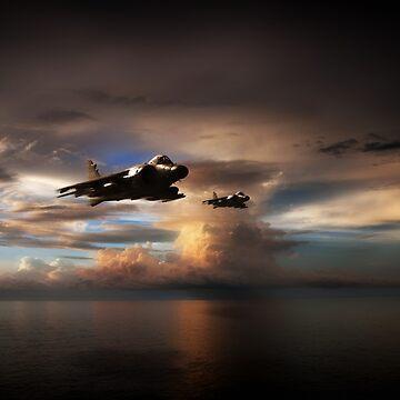 SHAR Strike by aviationart